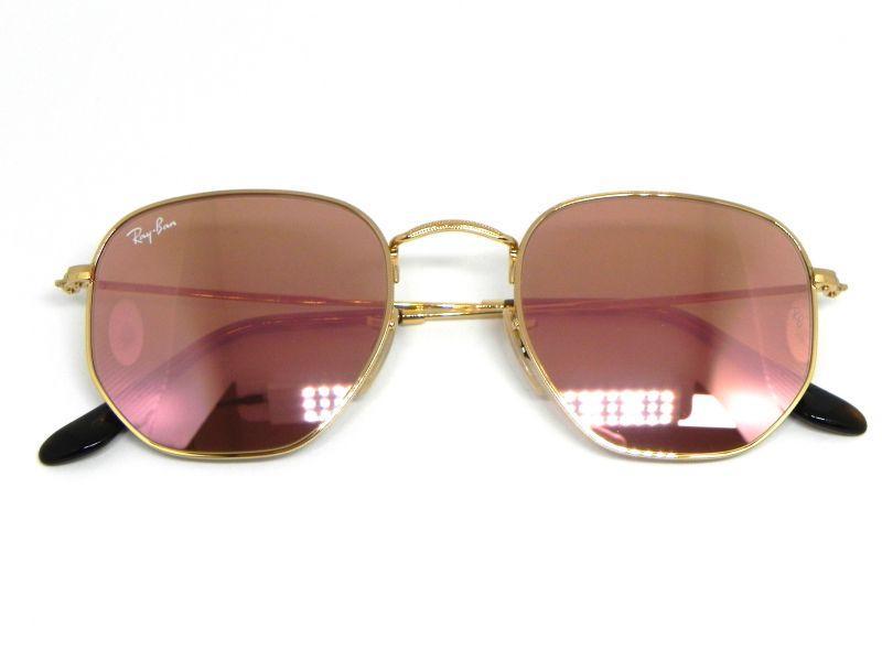 fd5f7a0272434 Oculos de sol Ray Ban Hexagonal RB 3548N 001 Z2 51 - Óculos de Sol ...