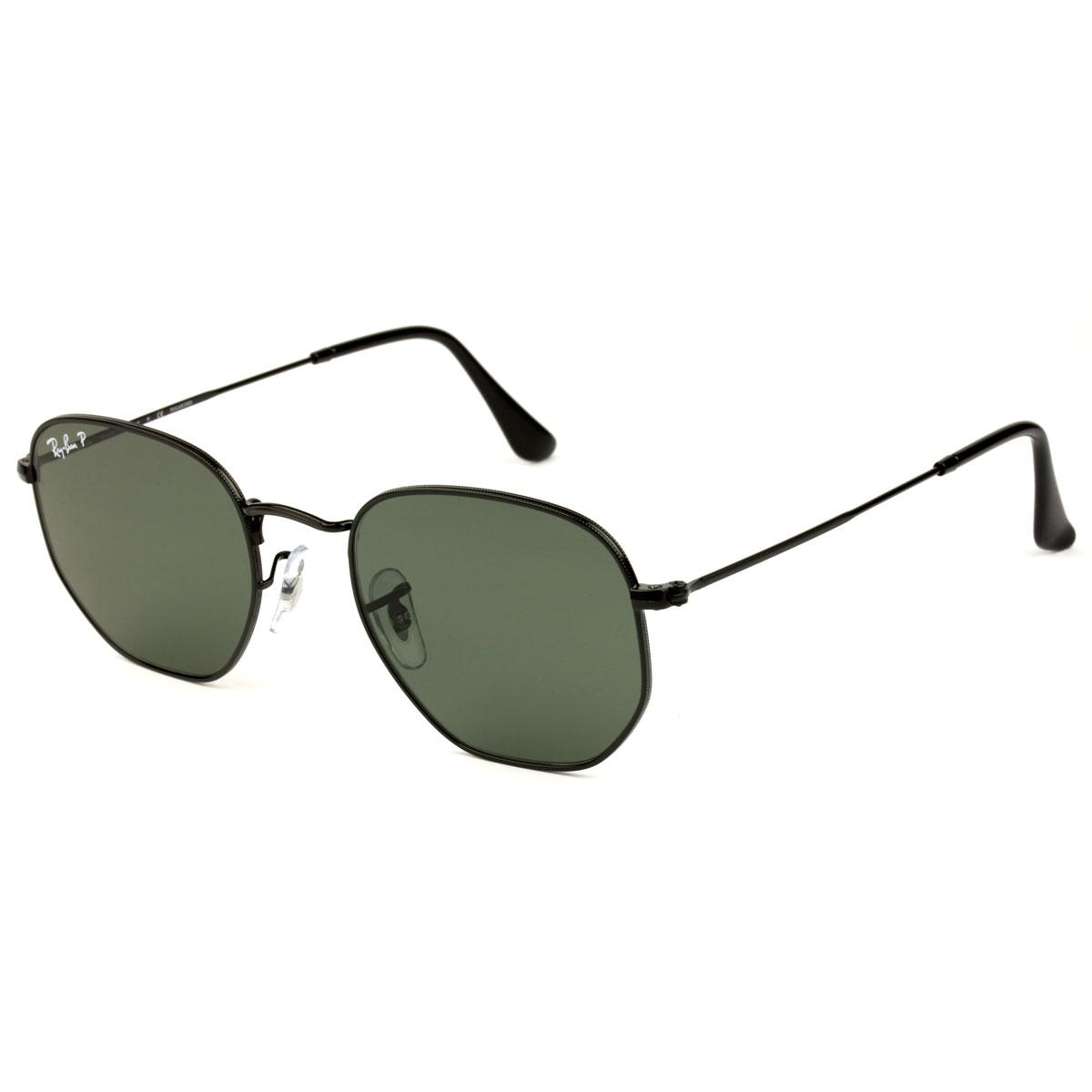 4768e4e862dbe Óculos de Sol Ray-Ban Hexagonal RB3548N 002 58 Polarizado Produto não  disponível