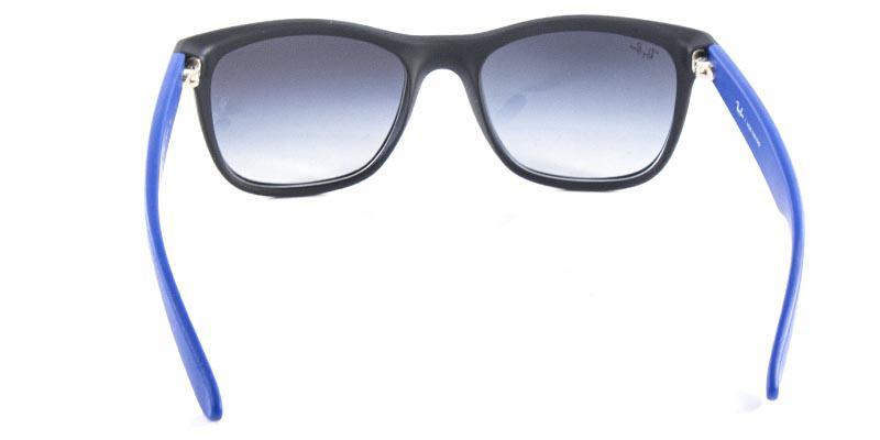 Óculos de Sol Ray Ban Highstreet Quadrado RB4219 Preto Fosco Haste Azul -  Ray-ban R  339,99 à vista. Adicionar à sacola 039ecd96e8
