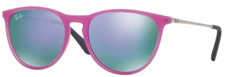 dda834df3119e Óculos de Sol Ray Ban Junior Erika RJ9060 Violeta Fluo - Ray-ban junior  Produto não disponível