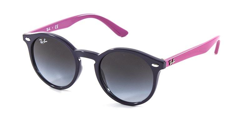 Óculos de Sol Ray Ban Junior Round RJ9064 Violeta Rosa - Ray-ban junior R$  279,90 à vista. Adicionar à sacola