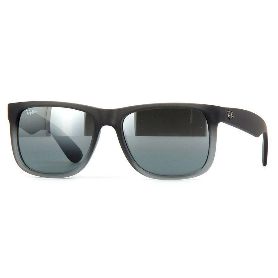 cc15b6d6cdae1 Óculos de Sol Ray Ban Justin Cinza Fosco Unissex de Acetato - Ray-Ban -  Óculos de Sol - Magazine Luiza