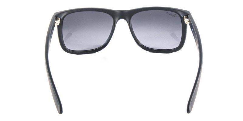 272e1e39aece8 Óculos de Sol Ray Ban Justin RB4165 Preto Fosco Lentes Polarizadas Tam 54 -  Ray-ban R  429