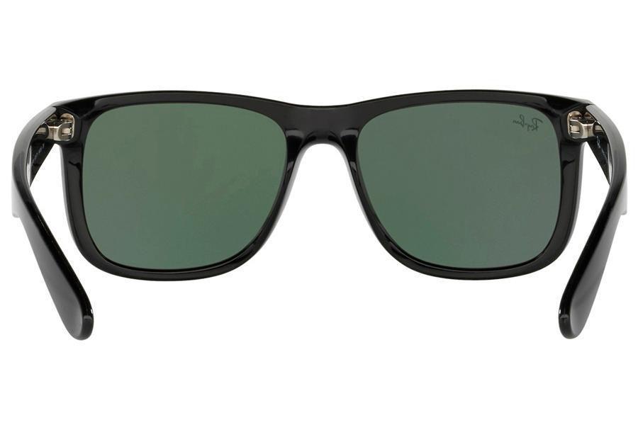 13f51730c13be Óculos de Sol Ray Ban Justin RB4165L 601 71 55 Preto Brilhante R  390