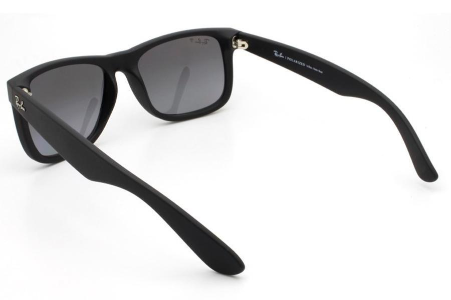 17facaaad0f91 Óculos de Sol Ray Ban Justin RB4165L 622 T3 55 Preto Emborrachado R  423