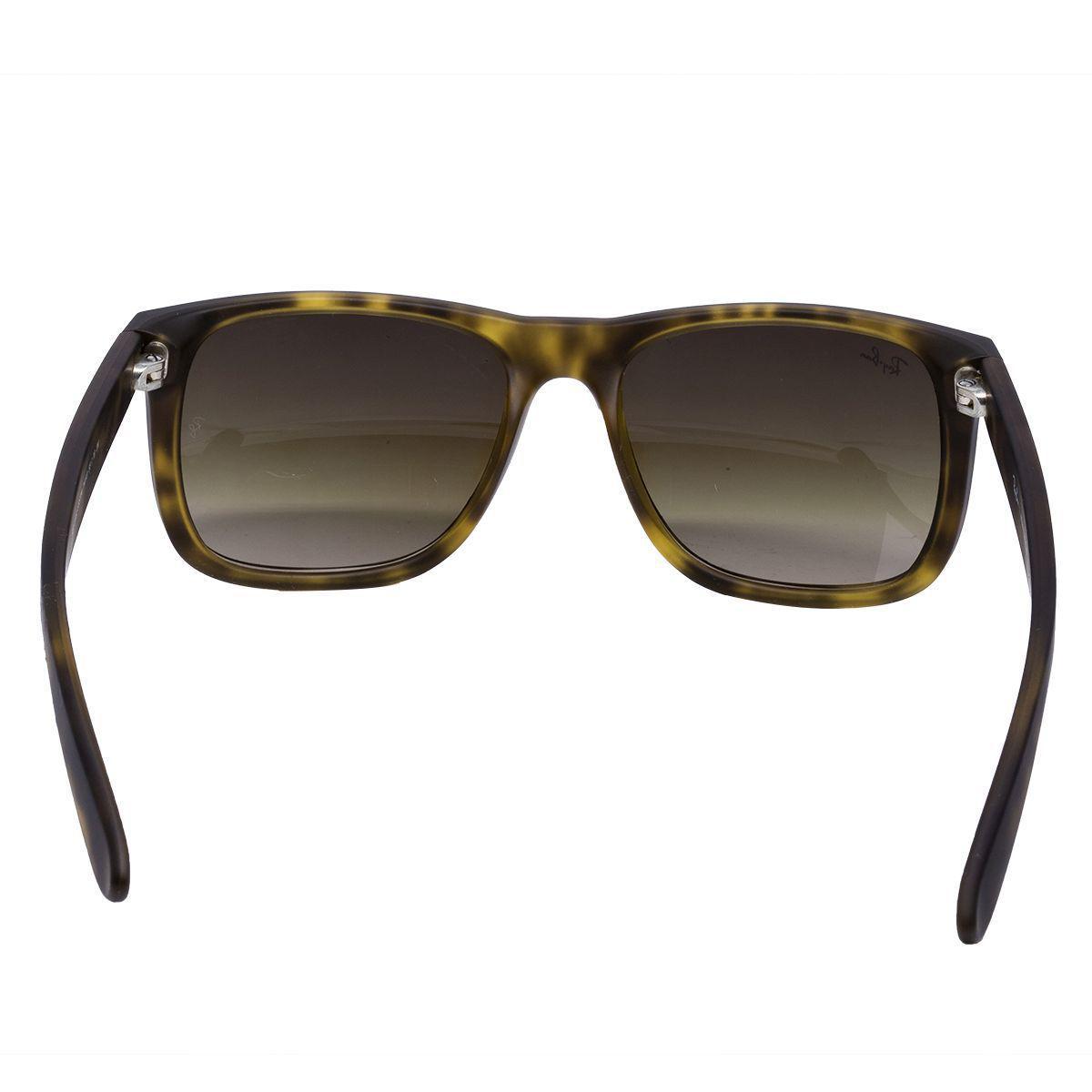 Óculos de Sol Ray Ban Justin Rubber Matte Havana RB4165 710 13 - Acetato  Tartaruga, Lente Marrom Deg R  484,00 à vista. Adicionar à sacola 64cb76cb60