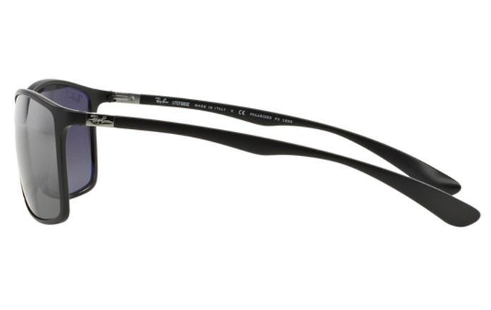 baba16088441c Óculos de Sol Ray Ban Liteforce RB4179 601S8262 Preto Fosco Lente Polarizada  Prata Espelhada Tam 62 - Ray-ban R  499,99 à vista. Adicionar à sacola
