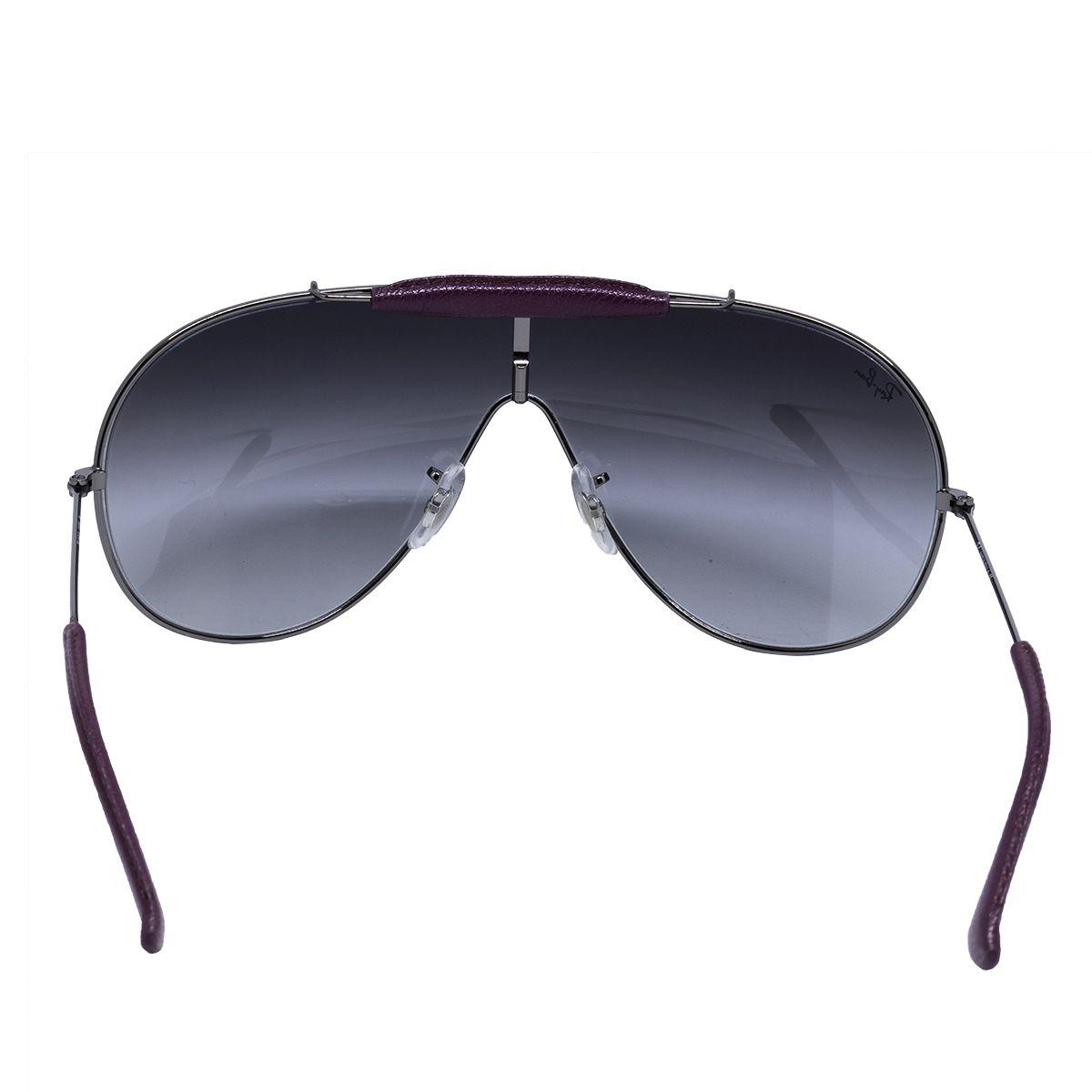 Óculos de Sol Ray Ban Máscara RB3416 - Metal Prata, Lente Cinza Degradê R   657,00 à vista. Adicionar à sacola befa66942e