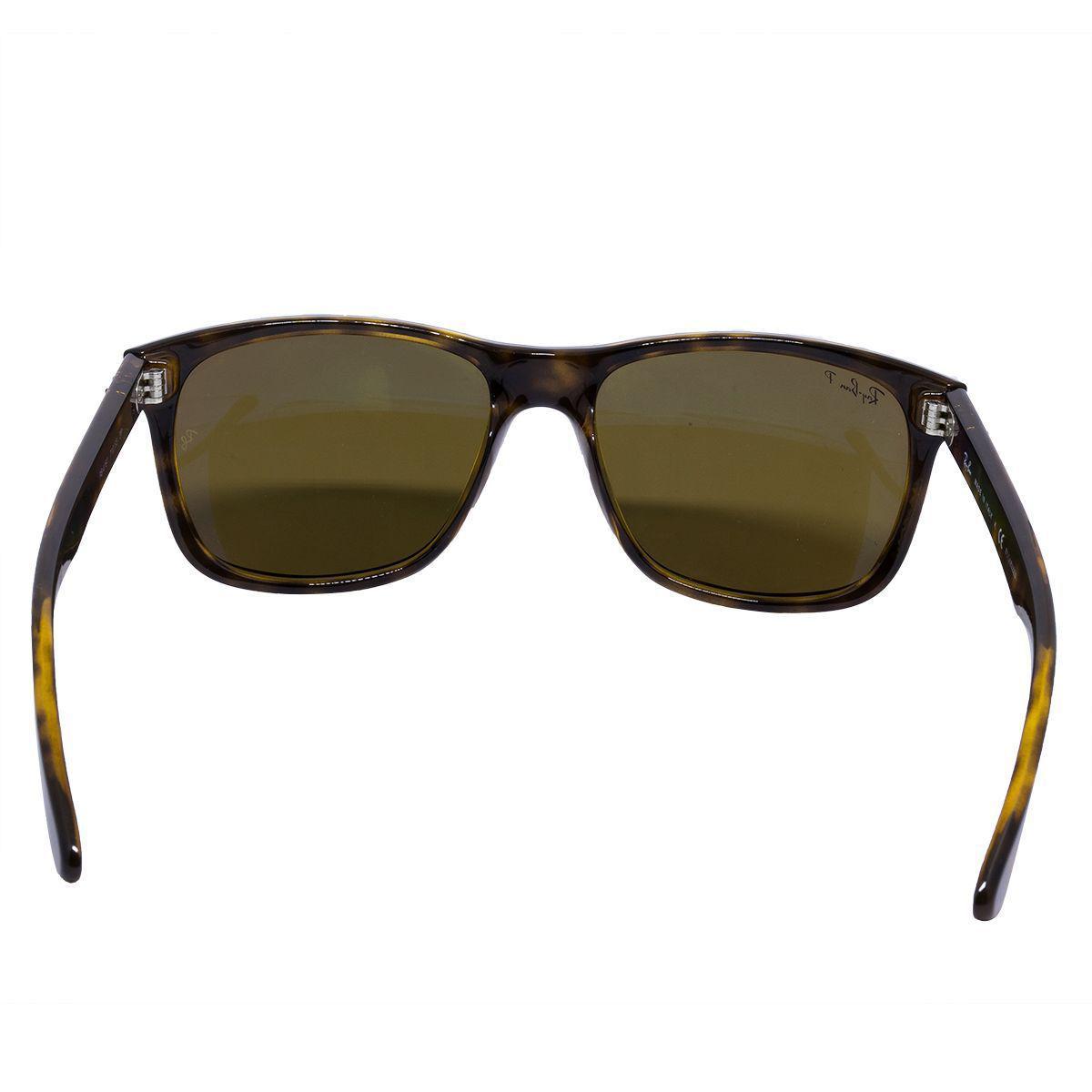 9d8b23aa7831b Óculos de Sol Ray Ban Polarizado RB4181 71083 - Acetato Tartaruga, Lente  Marrom R  629,00 à vista. Adicionar à sacola
