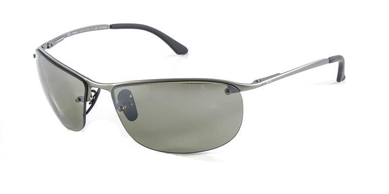 4778458f372a7 Óculos de Sol Ray Ban RB3542 Grafite Fosco Lente Polarizada Espelhada  Chromance - Ray-ban R  449