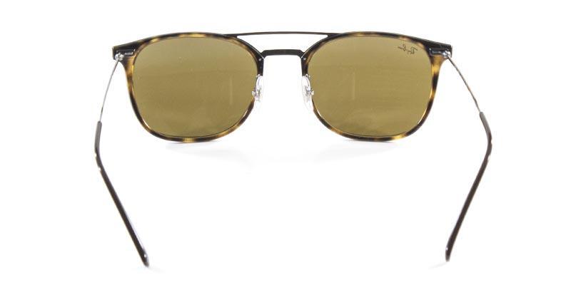 96f9a7d2a6c0f Óculos de Sol Ray Ban RB4286 Tartaruga Lente Marrom Haste de Titânio - Ray- ban R  549