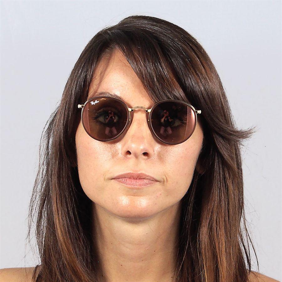 18276ea28a6dd Óculos de sol Ray Ban Round Craft Dobrável Rosé - Ray-Ban Produto não  disponível