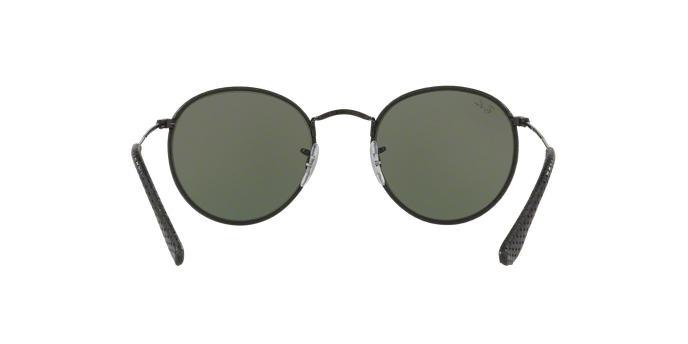 Óculos de Sol Ray Ban Round Craft RB3475Q 9040 Preto Couro Lente Verde Tam  50 - Ray-ban Produto não disponível a1ac849ead