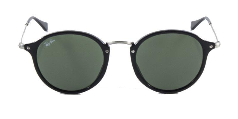 376d013f75bfb Óculos de Sol Ray Ban Round Fleck RB2447 Preto Lente Tam 49 - Ray-ban R   449