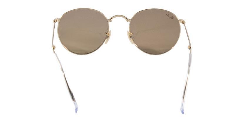 52321ab93abfd Óculos de Sol Ray Ban Round Folding RB3532 Ouro Lente Rosa Espelhada - Ray- ban R  539