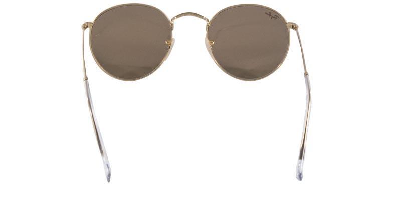 Óculos de Sol Ray Ban Round Metal RB3447 Ouro Lente Rosa Espelhada Tam 50 -  Ray-ban Produto não disponível b42d99e50755d