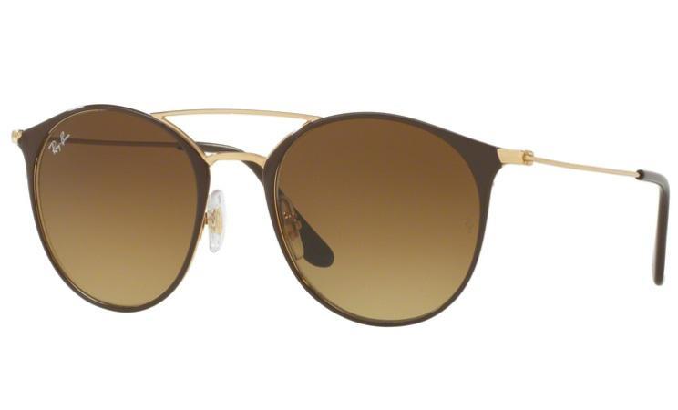 Óculos de Sol Ray Ban Round RB3546 900985 Marrom Lente Tam 52 - Ray-ban R   439,99 à vista. Adicionar à sacola 1e456271db