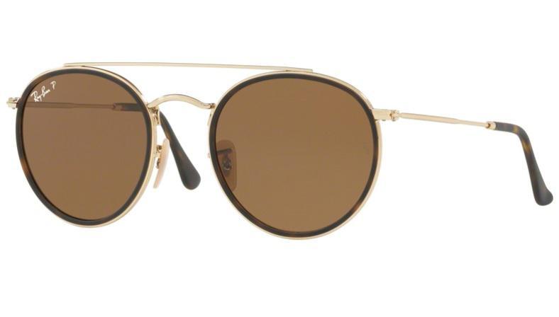 Óculos de Sol Ray Ban Round RB3647N 00157 Ouro Lente Polarizada Tam 51 - Ray -ban R  439,99 à vista. Adicionar à sacola 2c4e160dd8