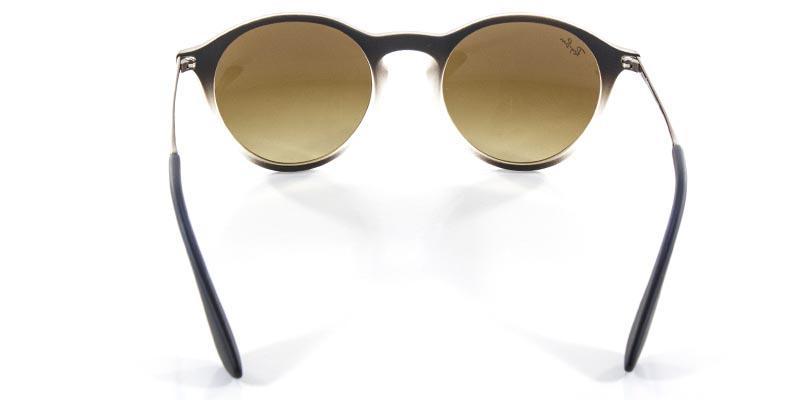 cd0a796f4 Óculos de Sol Ray Ban Round Stylish RB4243 Castanho e Transparente Lente  Marrom - Ray-ban Produto não disponível