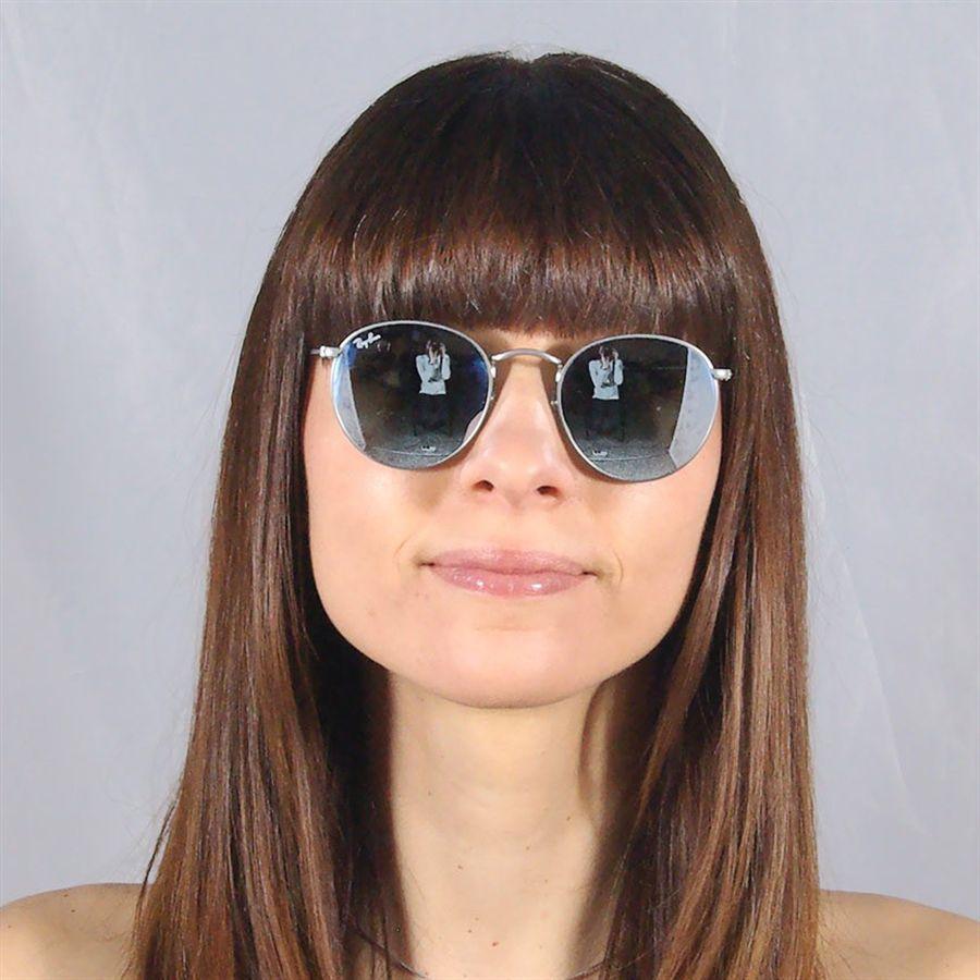 Óculos de Sol Ray Ban Round Unissex Prata Fosco - Ray-Ban Produto não  disponível 0397bd9307