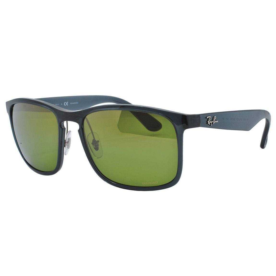 cc751d0e0 Óculos de Sol Ray Ban Unissex Chromance Polarizado RB4264 876/6O - Acetato  Preto e Lente Espelhada A R$ 691,00 à vista. Adicionar à sacola
