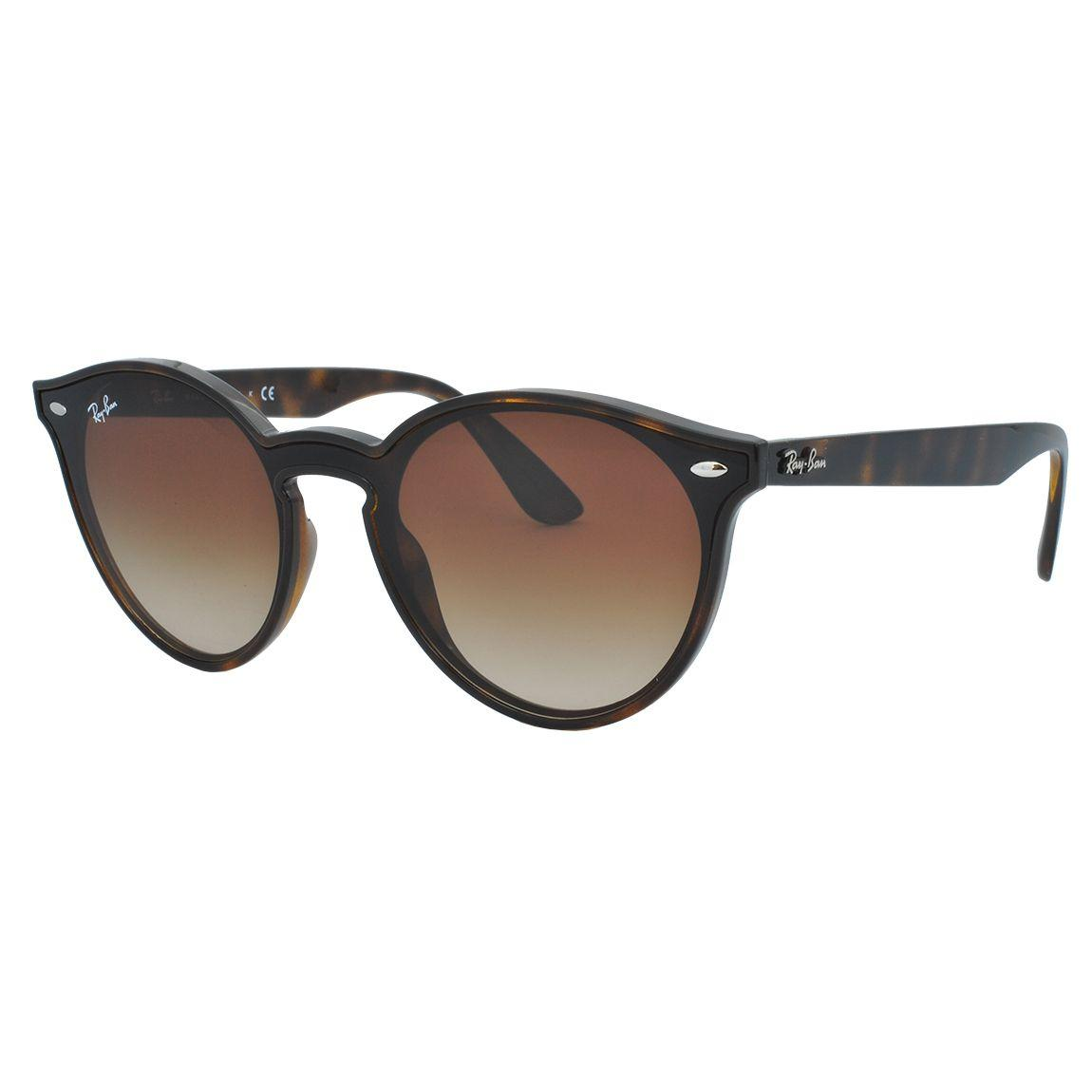30d9499420b6a Óculos de Sol Ray Ban Unissex RB4380N 710 133 - Acetato Marrom e Lente  Marrom Degradê R  601