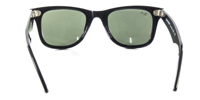 8d8057eb23 Óculos de Sol Ray Ban Wayfarer Clássico Original RB2140 Preto Polido Lente  Tam 50 - Ray-ban R  429