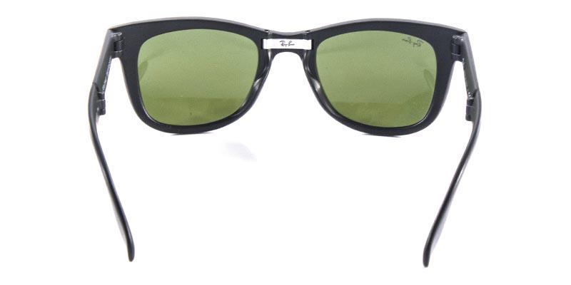 1245efcc3 ... get Óculos de sol ray ban wayfarer folding rb4105 preto fosco lente  rosa ray ban r