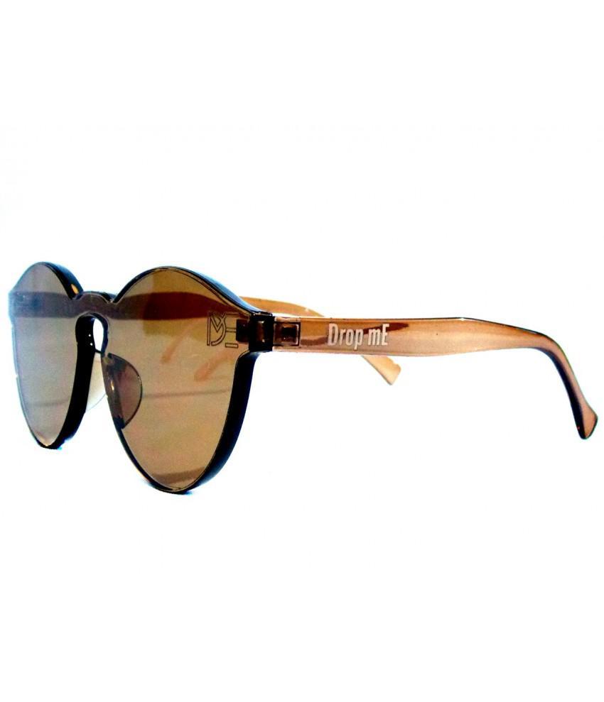 ac39c9edf5de8 Óculos de Sol Redondo Drop mE Translucido Glass Âmbar - Drop me acessorios  R  329,90 à vista. Adicionar à sacola