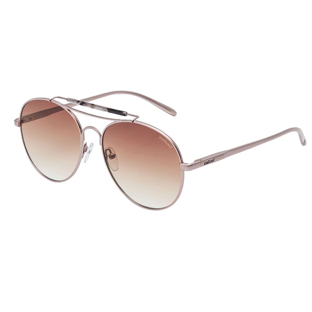 67ca5fb7b Óculos De Sol Rose Brilho E Marrom Degradê Colcci Produto não disponível