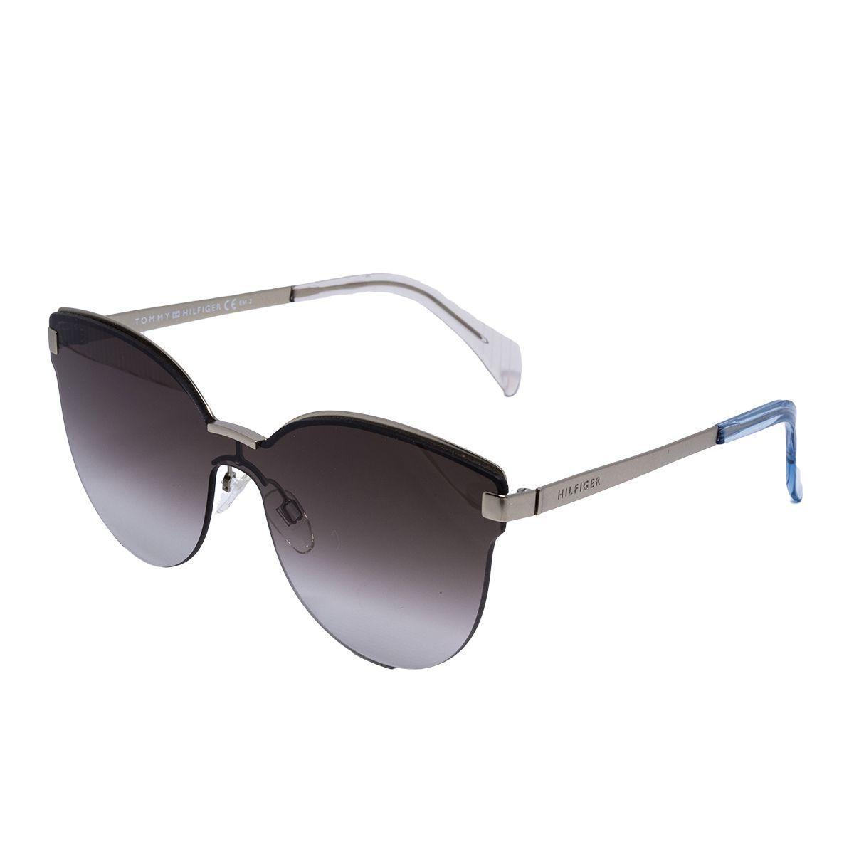 81fd42fe88228 Óculos de Sol Tommy Hilfiger Blaze Feminino TH1378 S - Metal e Lente Marrom  Degradê Produto não disponível