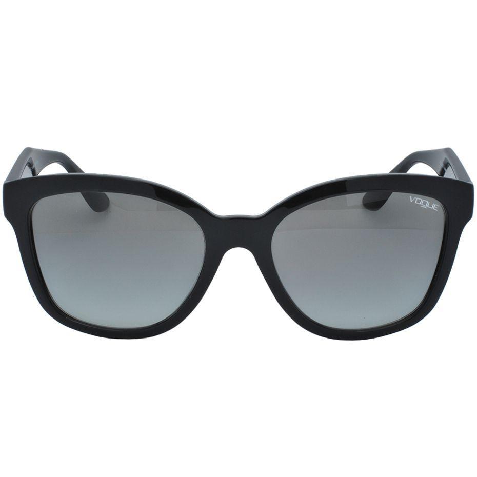 ed57e6587 Óculos de Sol Vogue Feminino VO5019-SL - Acetato Preto R$ 372,00 à vista.  Adicionar à sacola