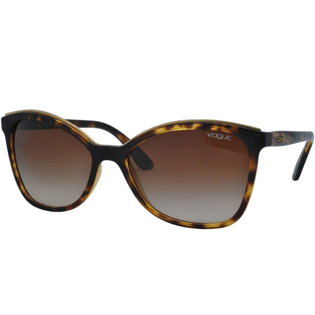 Óculos de Sol Vogue Feminino VO5159SL W65613 - Acetato Tartaruga Marrom e  Lente Marrom Degradê R  400,00 à vista. Adicionar à sacola 373eefa319
