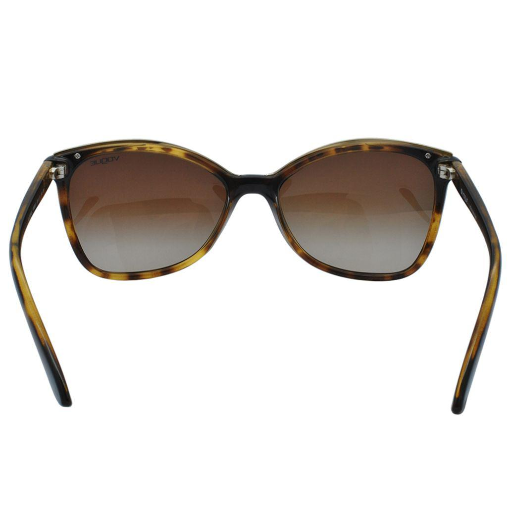 c0219bf29 Óculos de Sol Vogue Feminino VO5159SL W65613 - Acetato Tartaruga Marrom e  Lente Marrom Degradê R$ 400,00 à vista. Adicionar à sacola