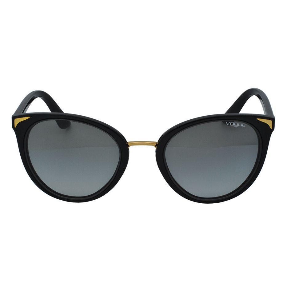 de3d868aa7e75 Óculos de Sol Vogue Feminino VO5230SL W44 11 - Acetato Preto e Lente Cinza  R  456,00 à vista. Adicionar à sacola
