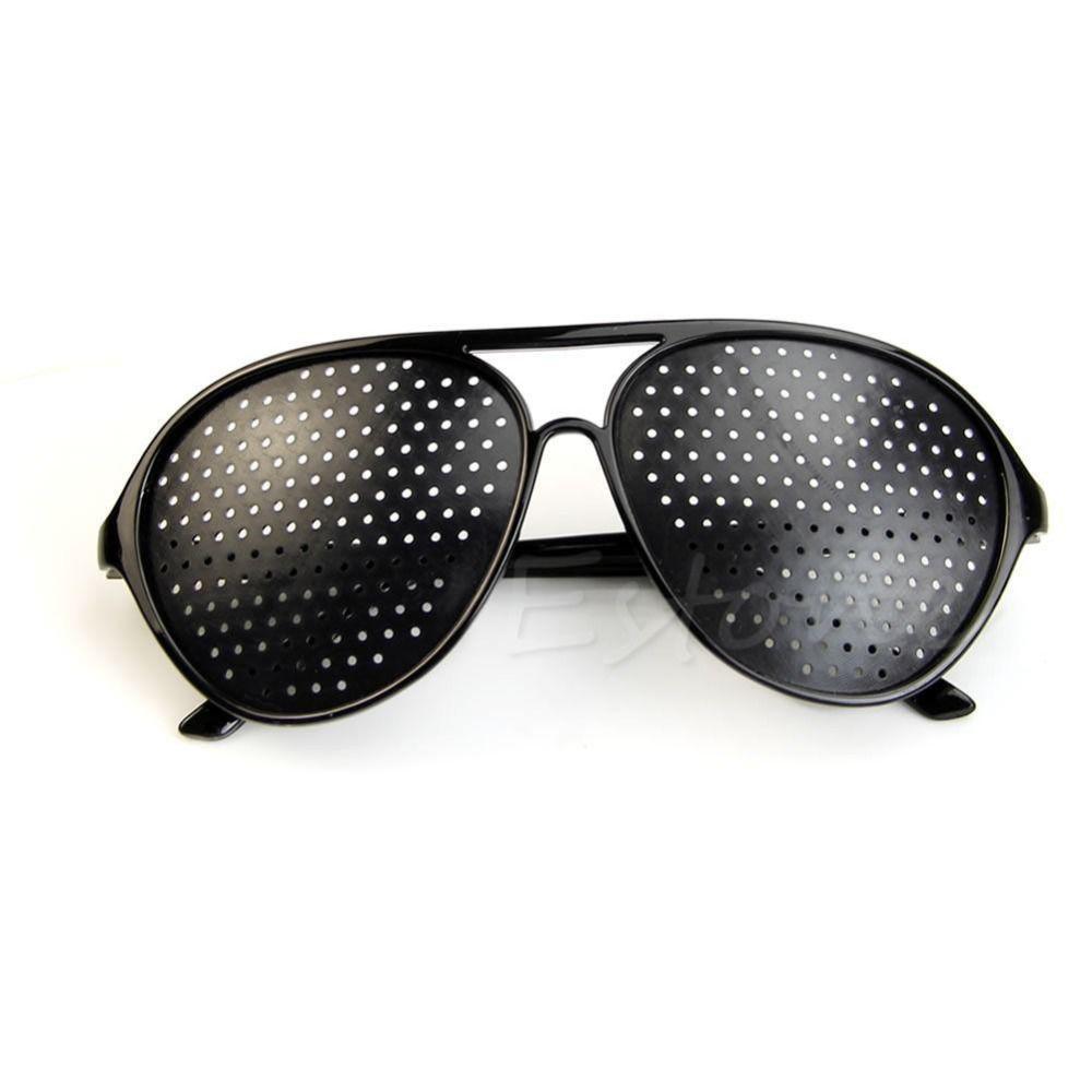 6909e1d4b Óculos Furadinho para Correção e Relaxamento das Vistas - Modelo Aviador - Vinkin  R$ 30,00 à vista. Adicionar à sacola