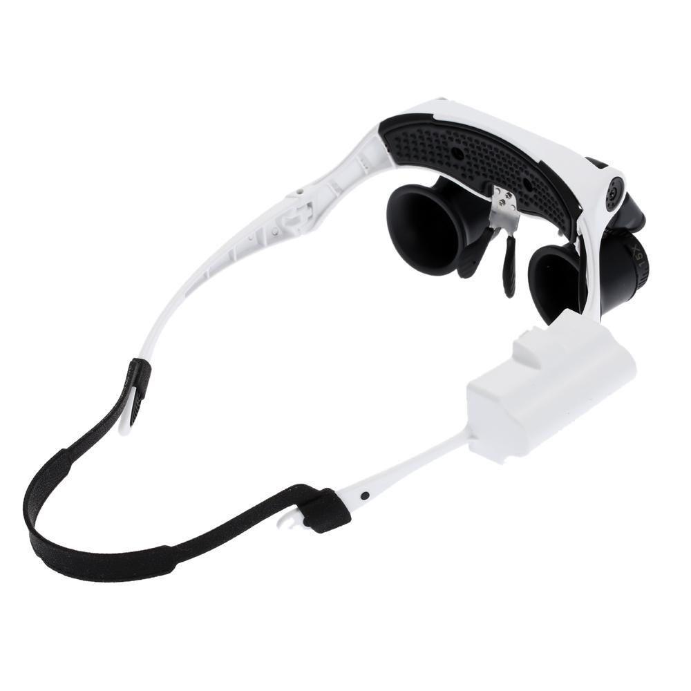 cfdf5fca04d28 Oculos lupa com duplo led e 4 lentes write pala para dentistas, medicos e  estetica profissional - Faça resolva Produto não disponível