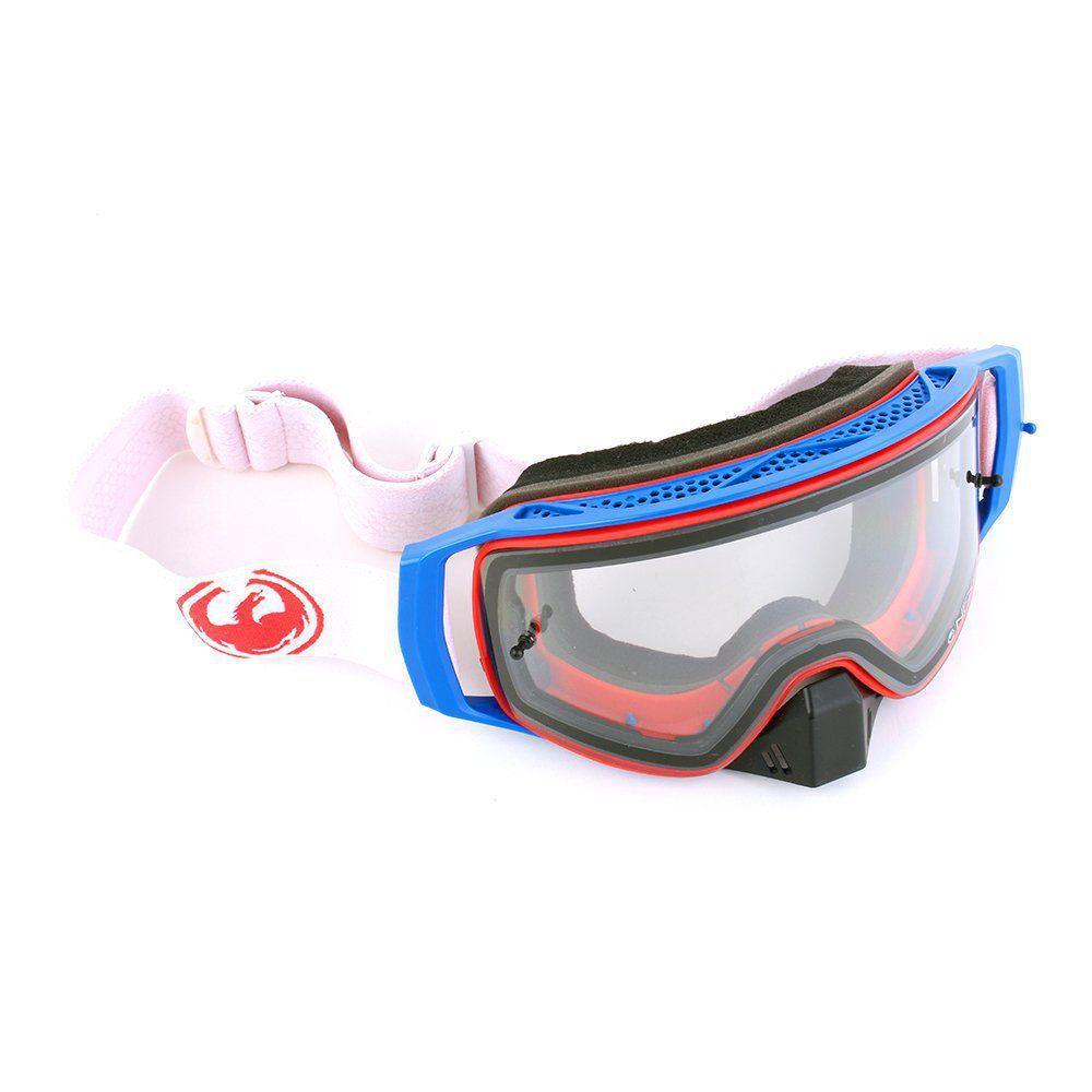 e7bf7b247 Óculos Motocross Dragon NFX2 Crimson - Lente Transparente + Tear-Off com 10  unidades R$ 615,90 à vista. Adicionar à sacola