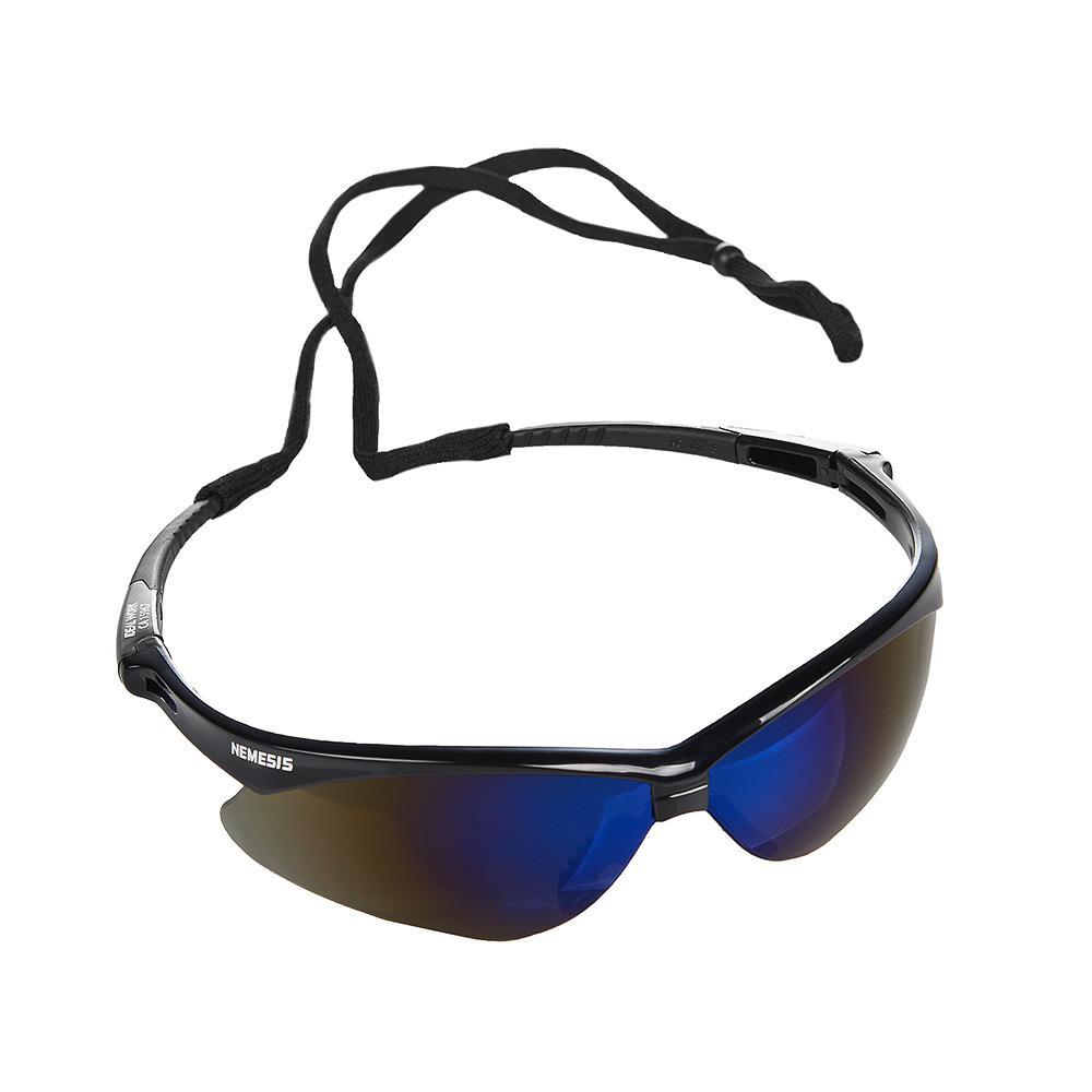 7008dc584 Óculos Nêmesis Jackson Armação Preta Lente Azul Espelhado Uv CA - Ideal  work R$ 49,90 à vista. Adicionar à sacola