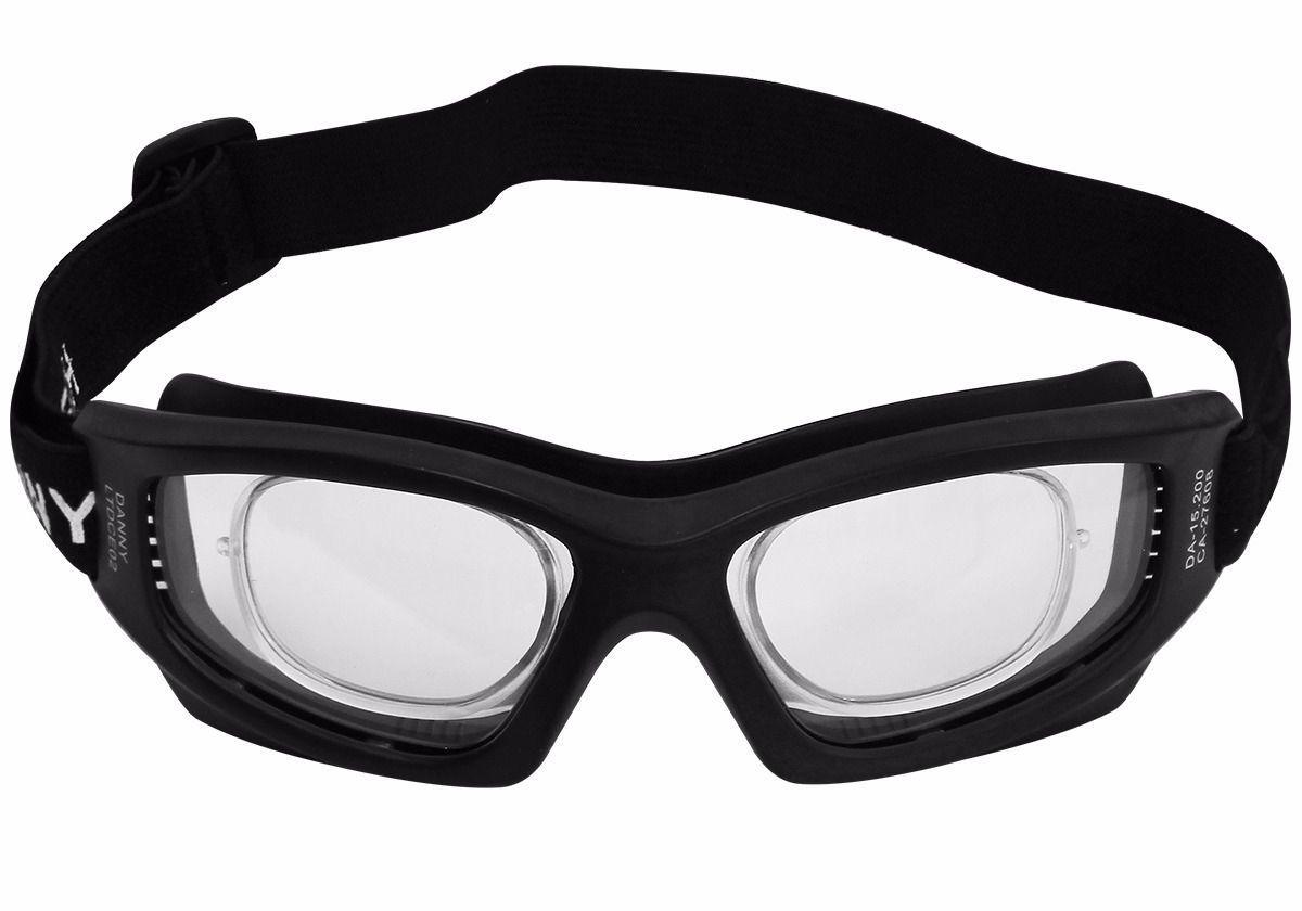 81af2cb668958 Óculos proteção esportivo com clipe interno p  lentes de grau ideal para  ciclismo futebol voley paraquedismo paintball a - Danny R  96