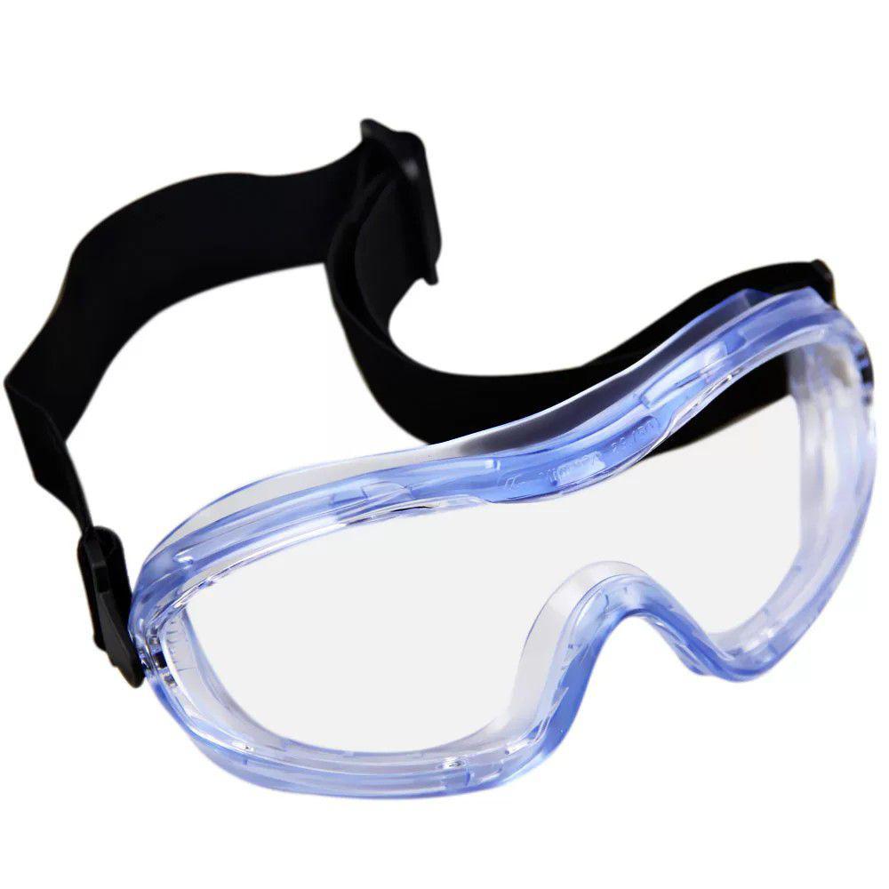 14fd39a092e48 Óculos Segurança Ampla Visão Incolor Mini Carbografite - Óculos de ...