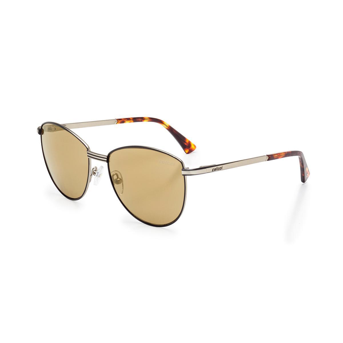 7ac6fdf7e Oculos Sol Colcci C0109 Preto C/ Dourado/L Marrom Fl Dour. -  F6-C0109A0108Pa R$ 299,00 à vista. Adicionar à sacola