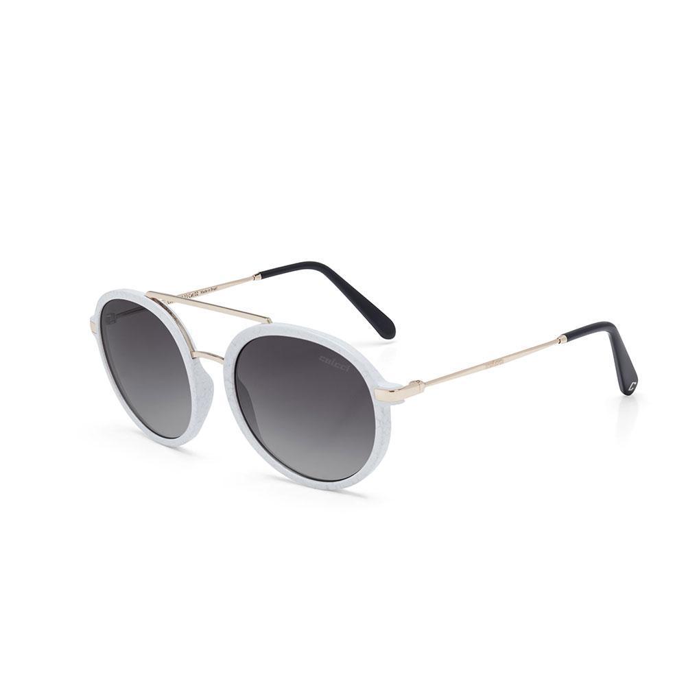 cfb885c5e Oculos Sol Colcci Cindy Branco Marmore Brilho Com Dourado Brilho/ Produto  não disponível