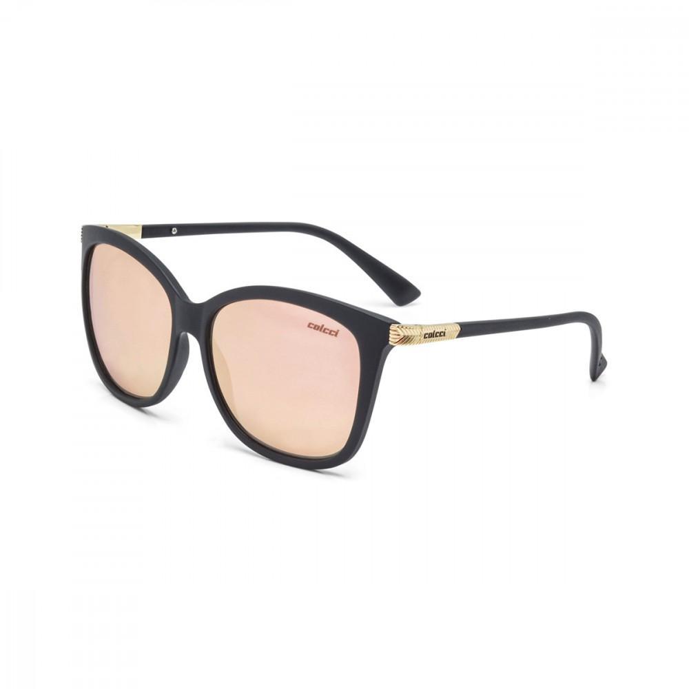 Oculos Sol Colcci Ella Preto Fosco L Marrom Revo Rose Gold Produto não  disponível ae15a87318