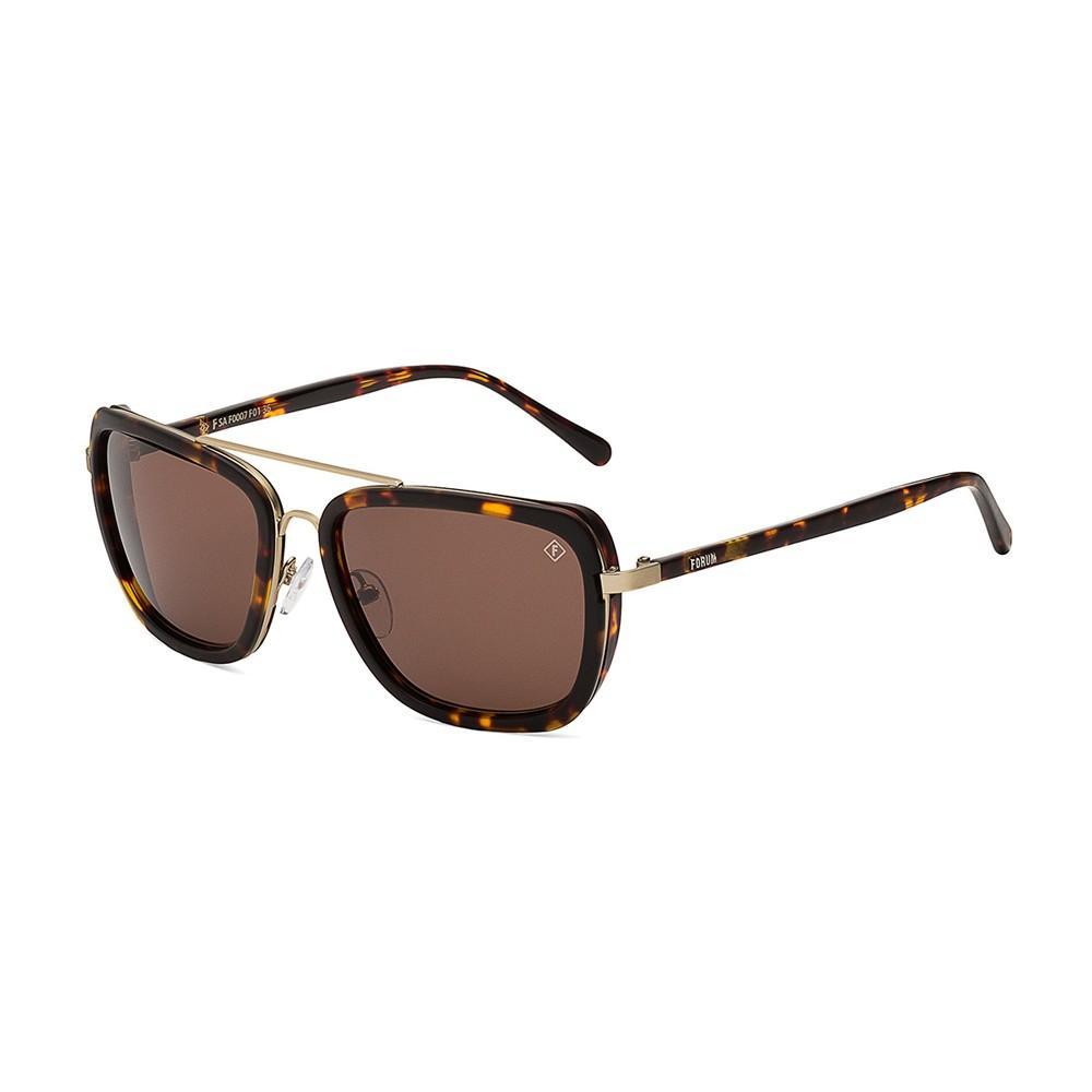 18ffe0a5f775f Oculos Sol Forum F0007 Marrom Demi L Marrom Polarizado Produto não  disponível