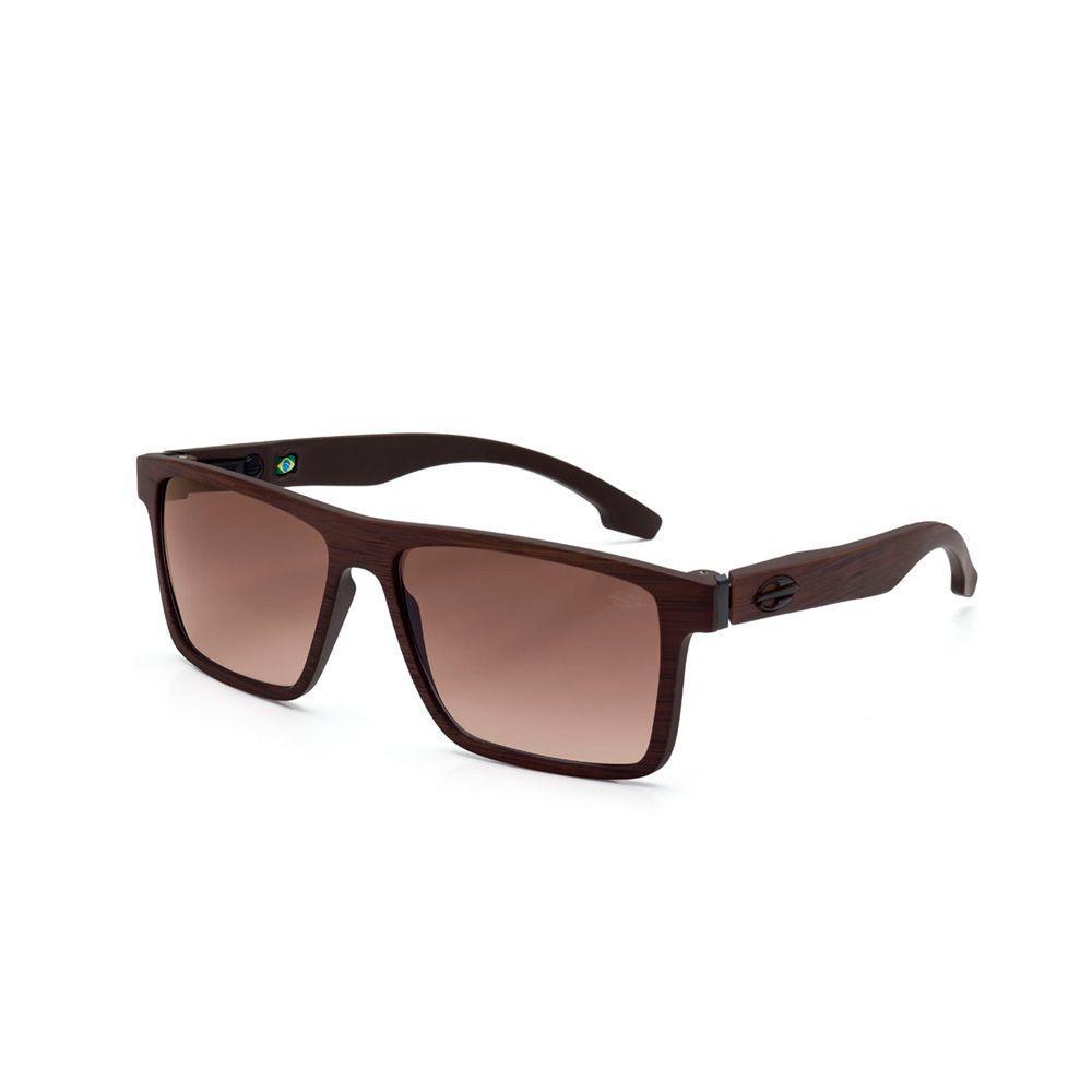 01422c8cc6a78 Óculos sol mormaii banks marrom madeira fosco l marrom degr marrom R   249,00 à vista. Adicionar à sacola