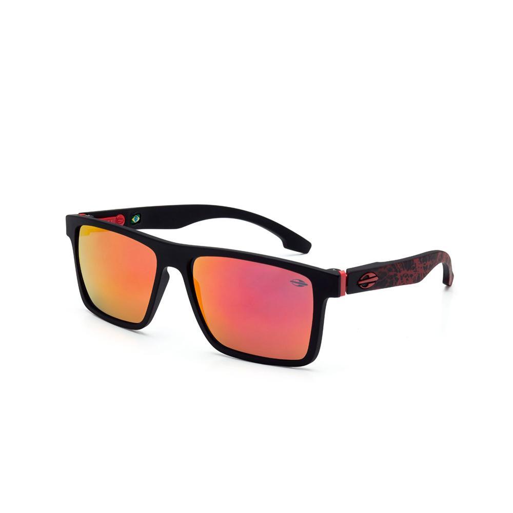 f590488b5 Óculos sol mormaii banks preto fosco c/ mascara vermelho preto-vermelho  Produto não disponível