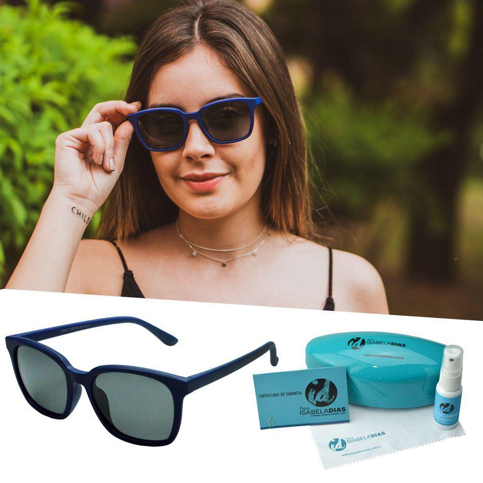 d137cb510eed4 Oculos Sol Quadrado Flexivel Feminino Não Quebra 214 - Isabela dias R   97