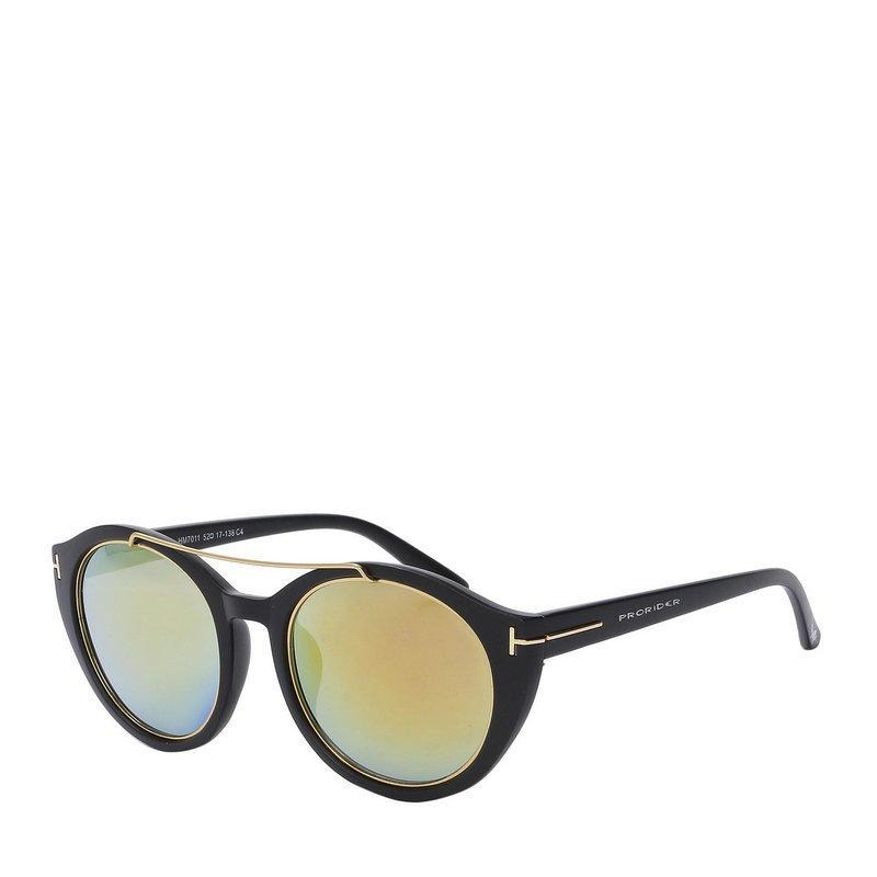 56d8b1a89 Óculos Solar Prorider PretoDourado com lente gradiente HM7011C4 R$ 68,00 à  vista. Adicionar à sacola