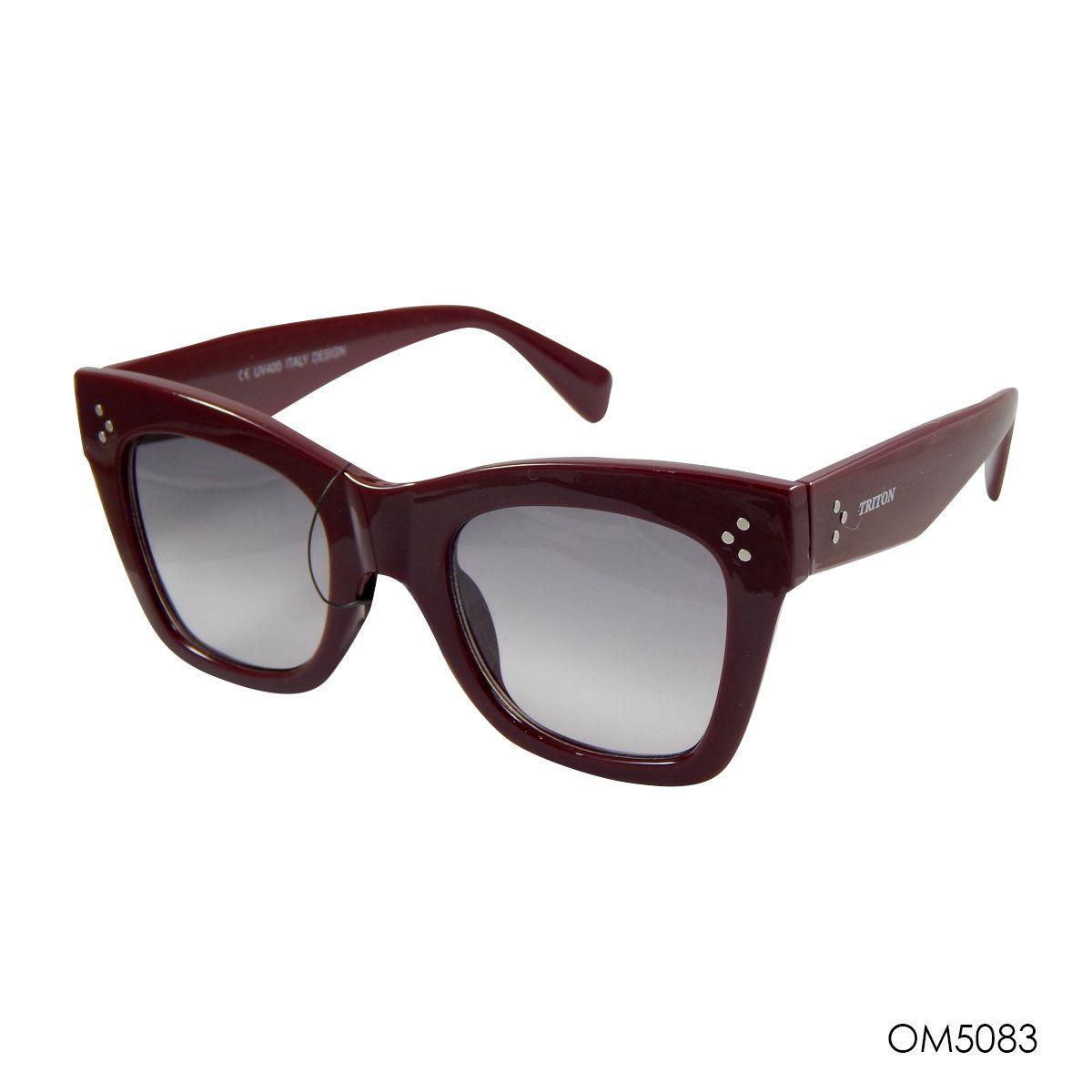 81297165d Oculos triton feminino retrô acetato om5083 - - Acessórios de moda ...